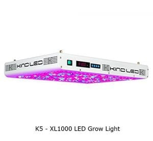Kind K5 XL1000 - LED Grow Light