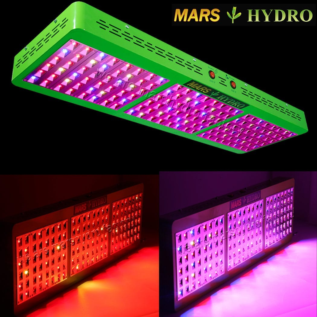 Mars Hydro Reflector 144 720w Led Grow Light Review