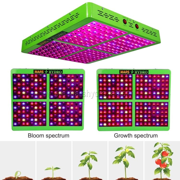 Mars Hydro Reflector 192 960w Led Grow Light Review