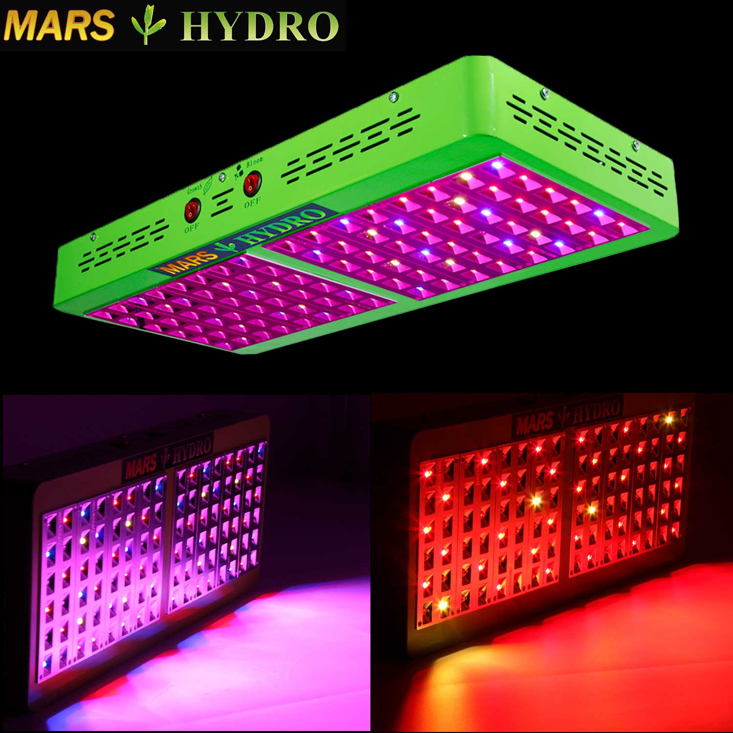 Mars Hydro Reflector 96 480w Led Grow Light Review