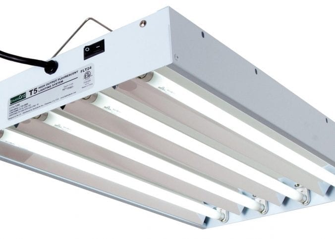 Different Types of Grow Lights - Fluorescent T5