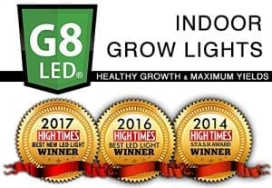 G8 LED Hight Times Magazine Award Best Light