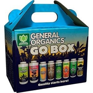 General Organics Go Box Nutrients and Fertilizers for cannabis