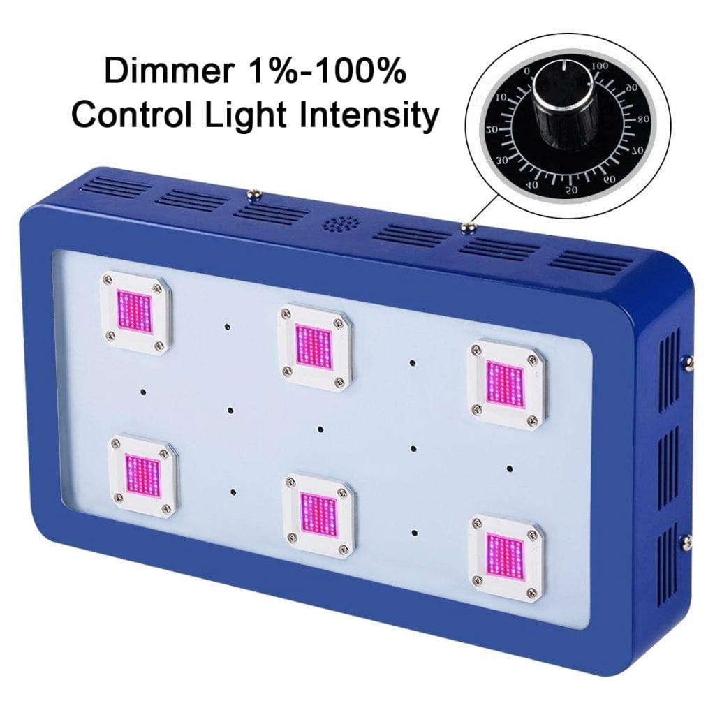 KingLED X6 1800W COB led light
