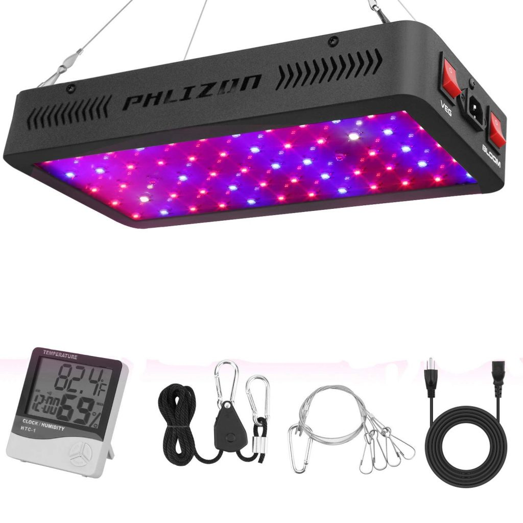 Phlizon Newest 600w LED Grow Light Review | GrowYour420