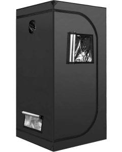 iPower 3x3 grow tent for growing cannabis indoor