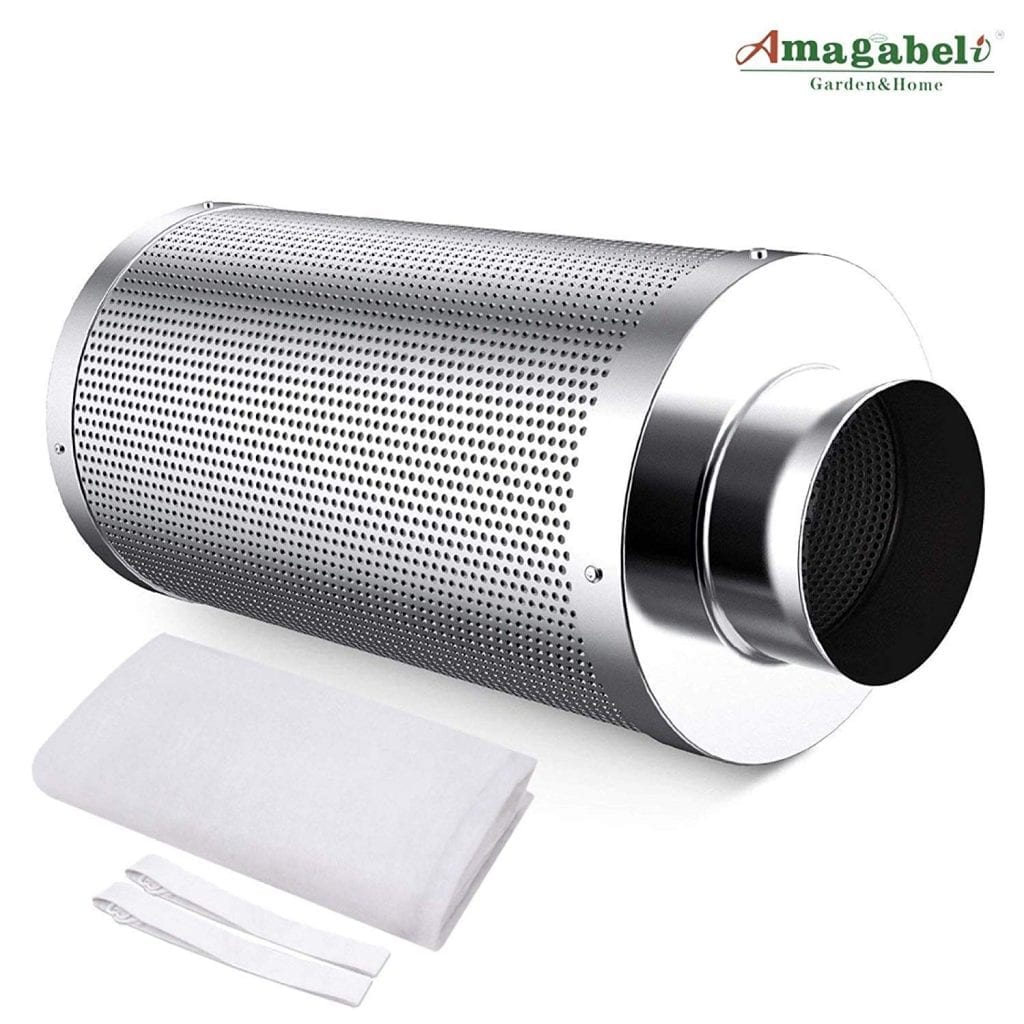 Amagabeli 6 inch best carbon filter