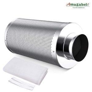 Amagabeli 6 inch carbon filter