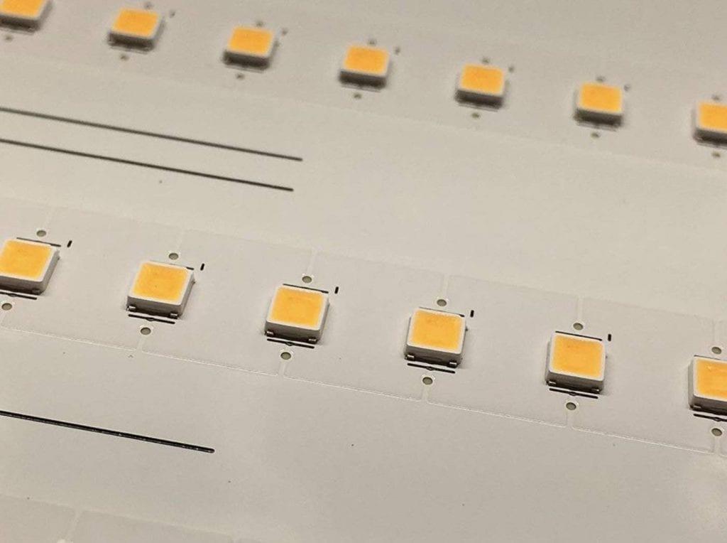 HLG Quantum Board 550 V2 LEDs