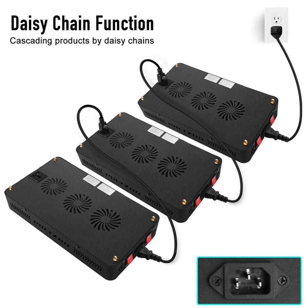 Phlizon Newest 1200w - daisychain