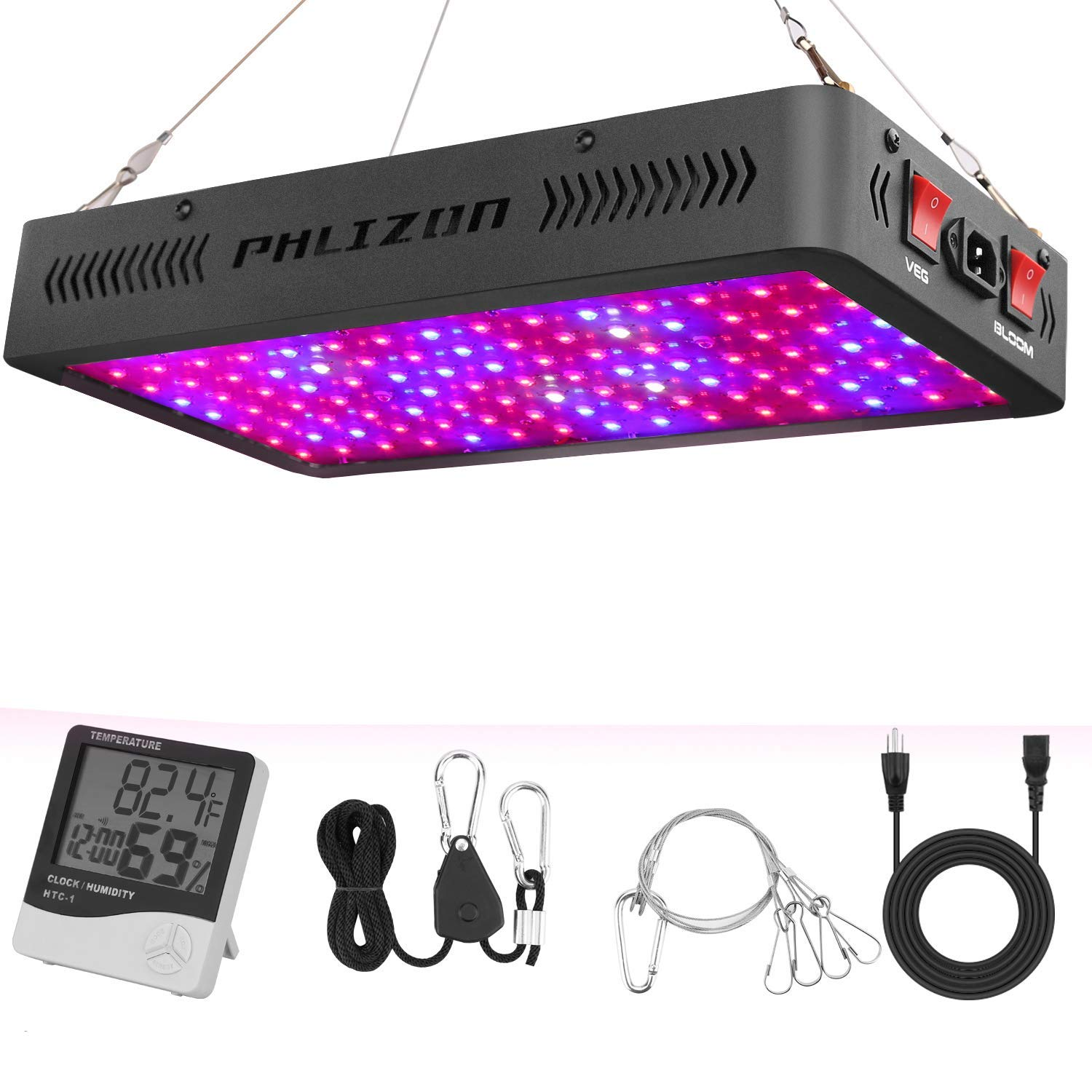 Phlizon Newest 1200w Led Grow Light Review Growyour420