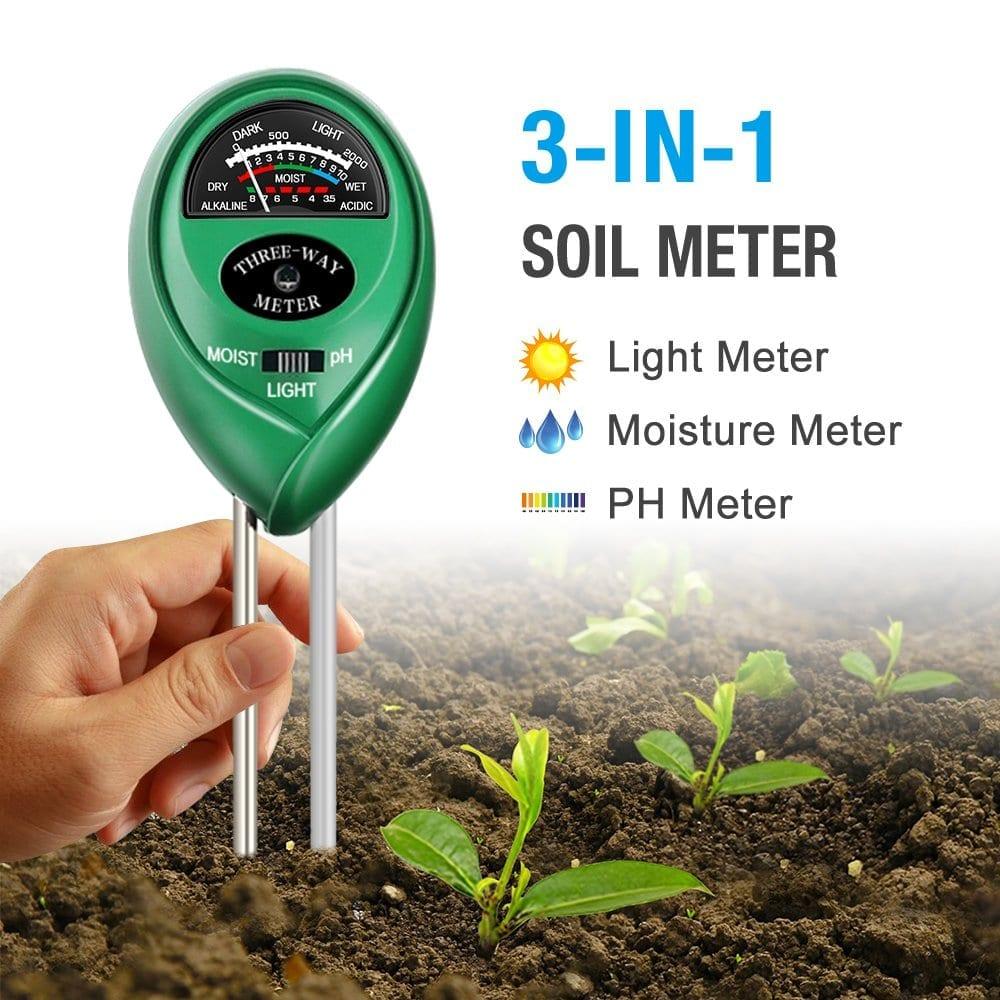 Atree Soil pH meter 3-in-1