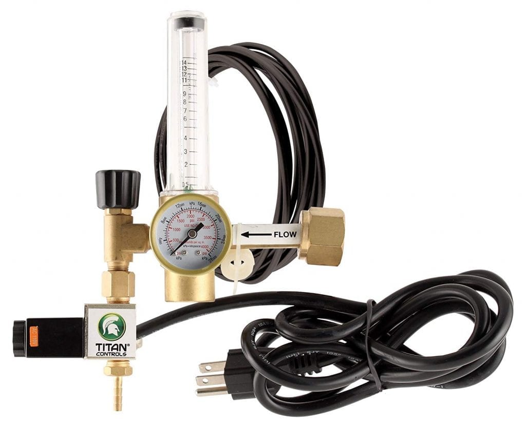Titan Controls carbon dioxide CO2 regulator
