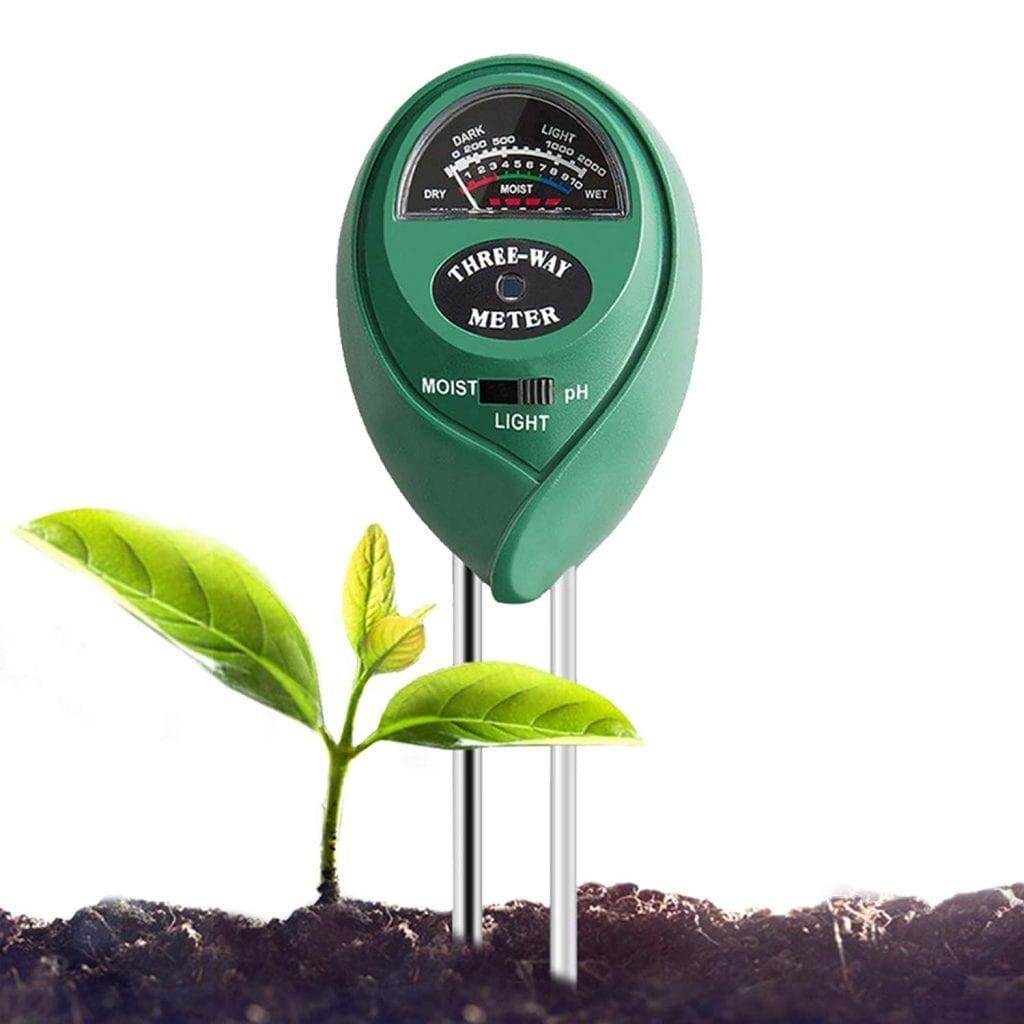 Vivosun Soil pH tester 3-in-1