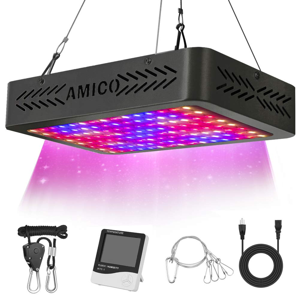 Amico 1200W LED Grow Light Review | RECOMMENDED | GrowYour420
