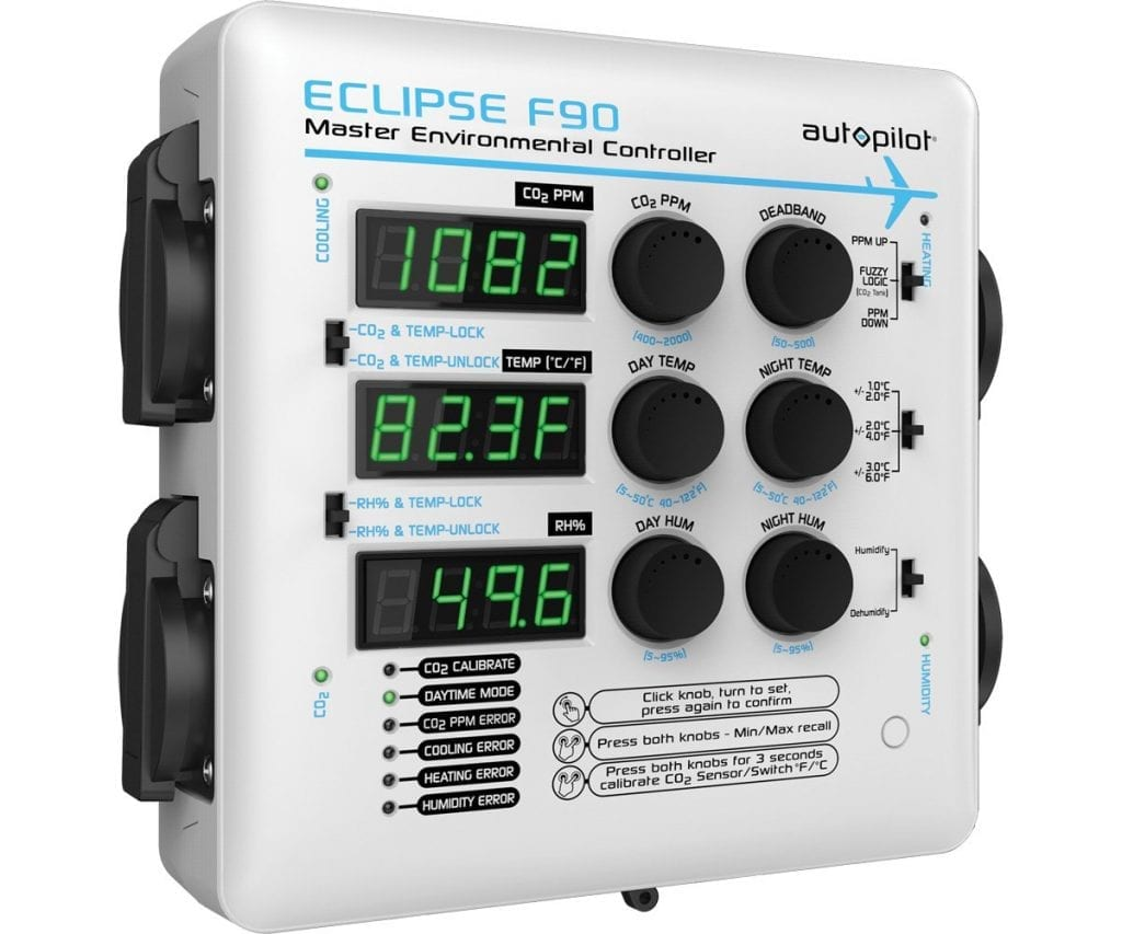 AutoPilot APE4200 Eclipse F90 Master Environmental Grow Room Automation