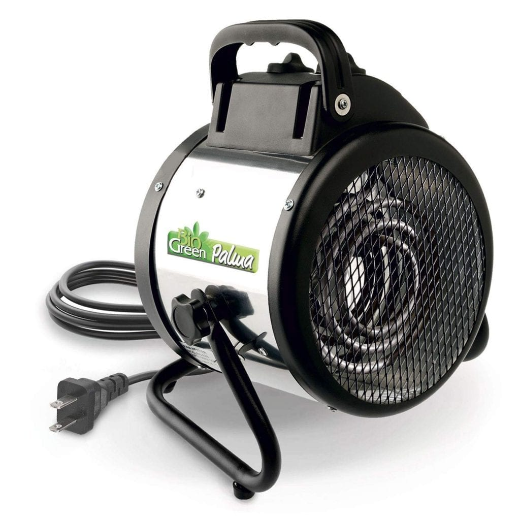 Bio Green PAL 2.0 US Palma Electric Fan Heater for Greenhouses