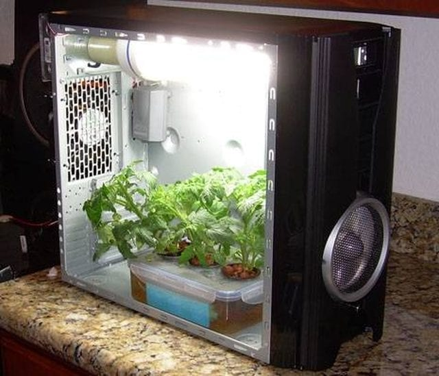 DIY Grow Box Made From Old Computer