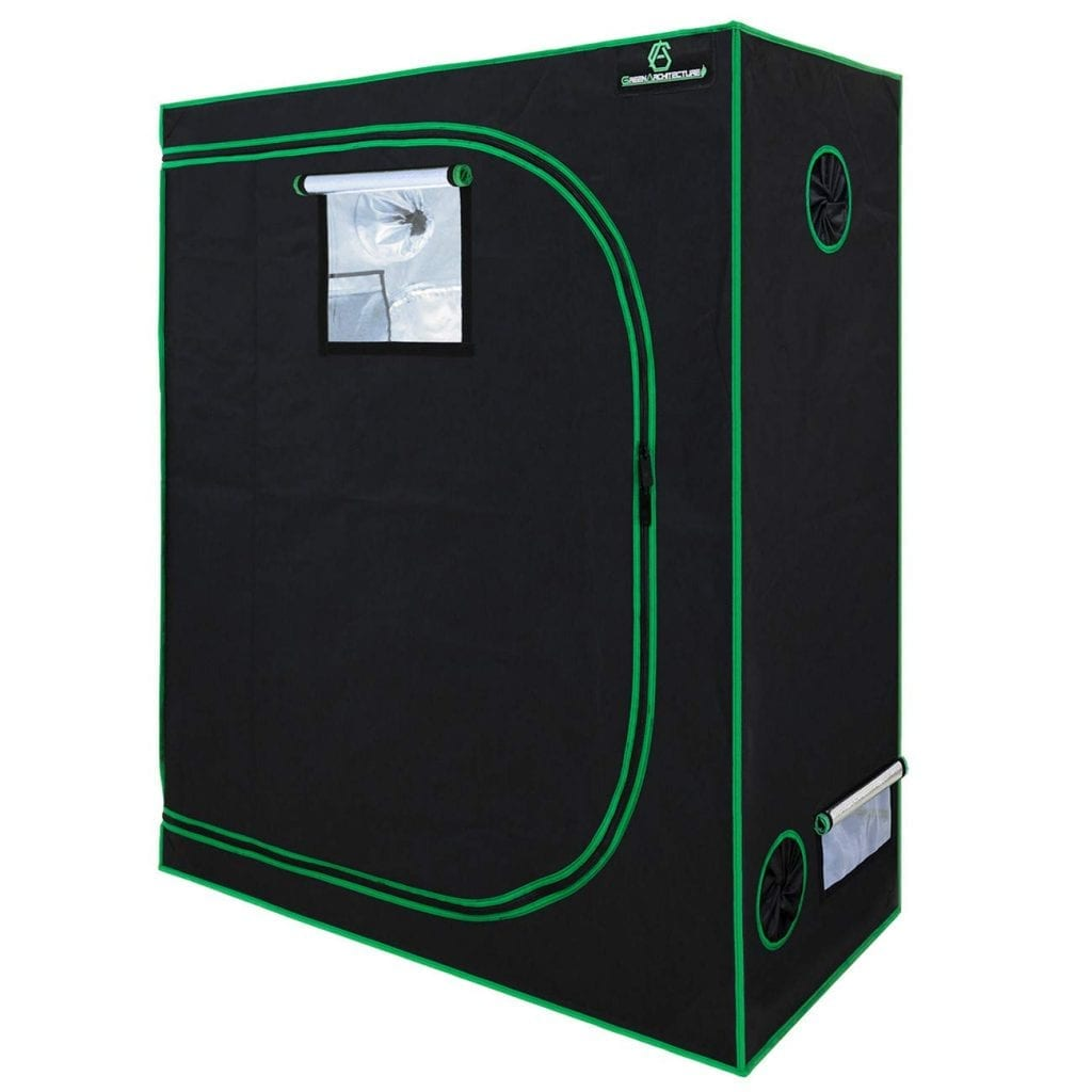 GA 48 x 24 x 60 Reflective Mylar Hydroponic Grow Tent