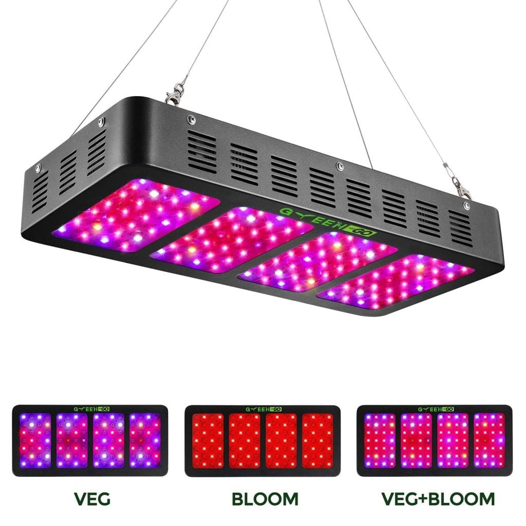 Yehsence 1500w Led Grow Light Review Growyour420