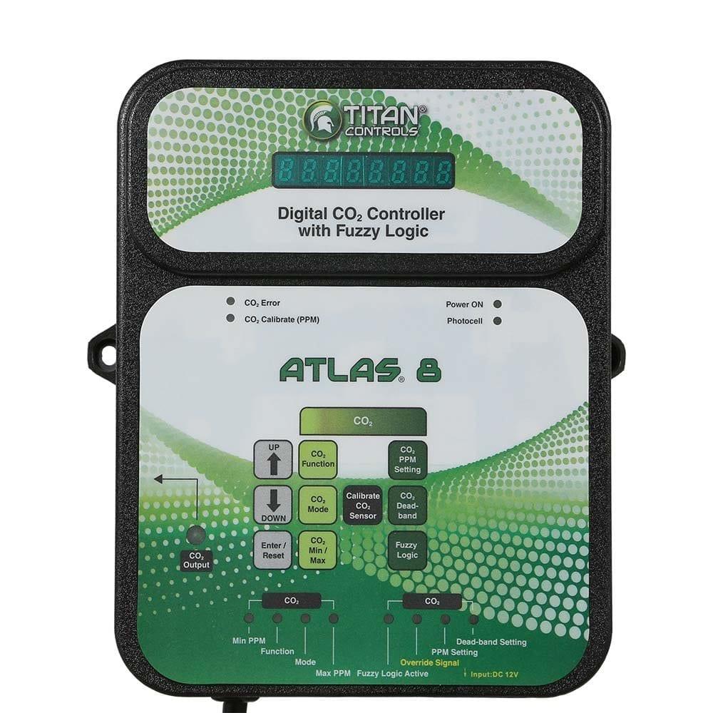 Titan Controls Digital CO2 Grow Room Controller