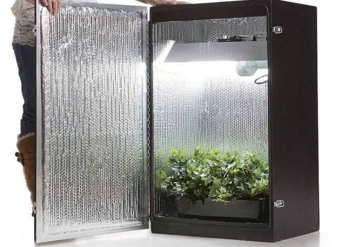 grow cabinet and grow box