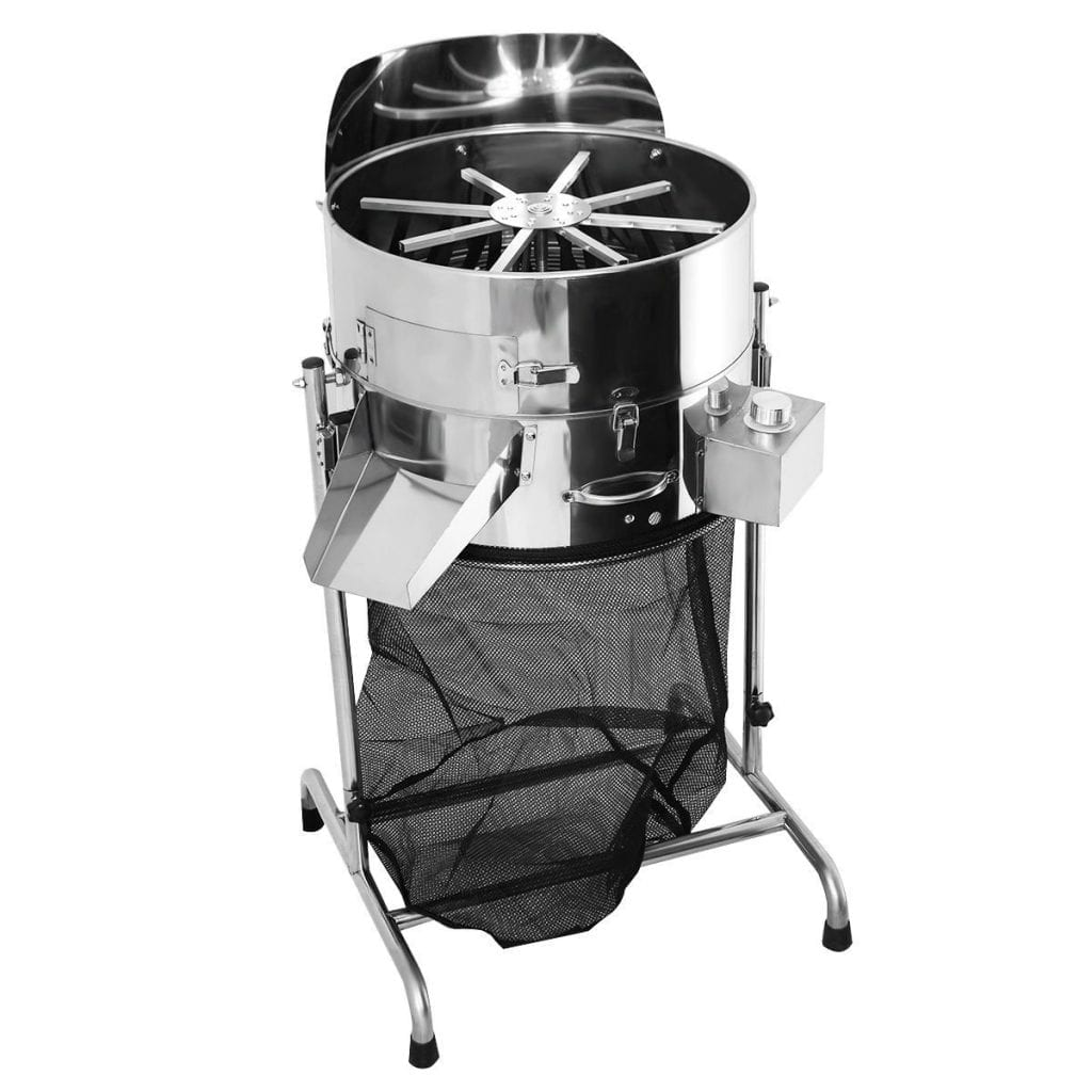 """Giantex 18"""" Stainless Hydroponic Leaf Trimmer"""