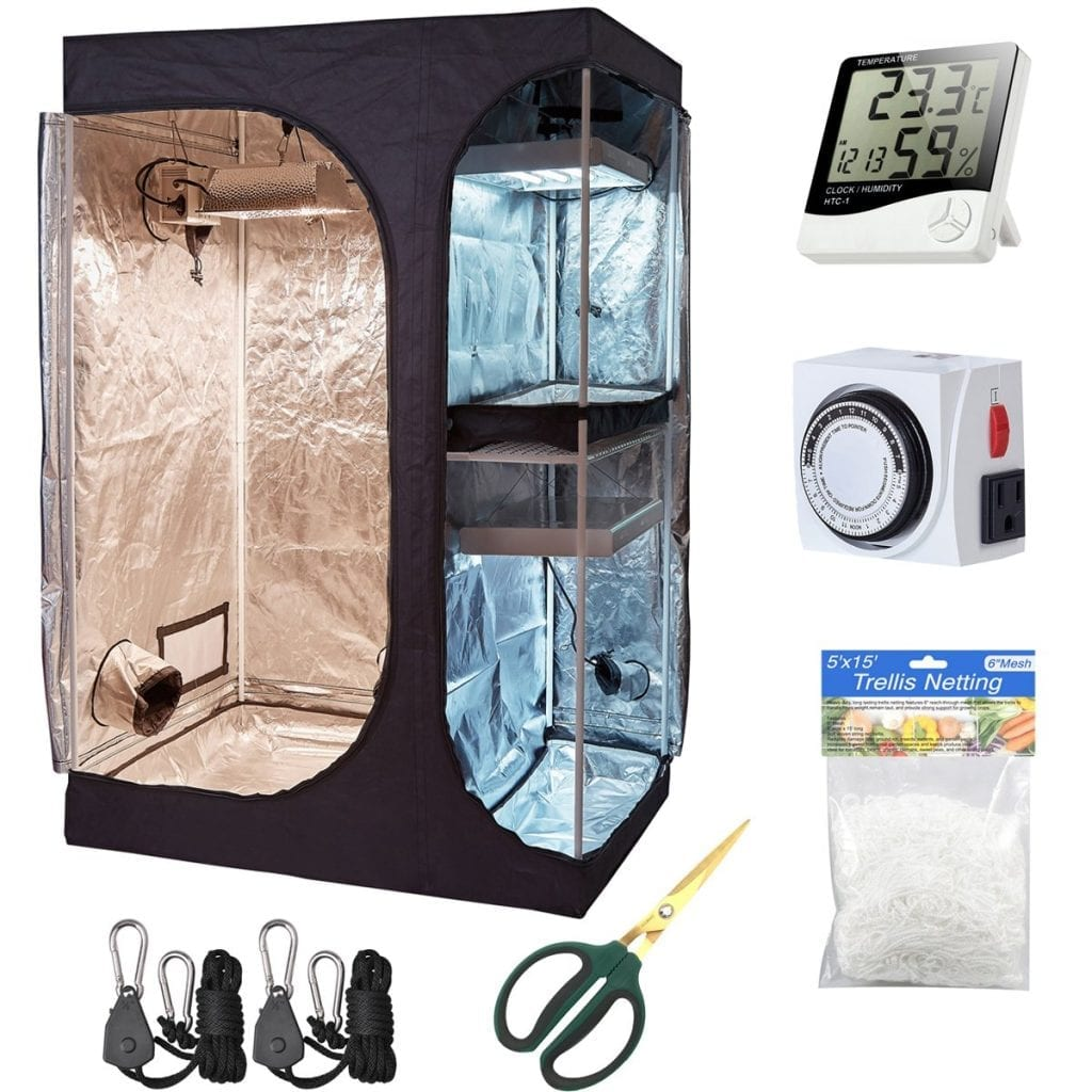 Hydro Plus Complete Grow Tent