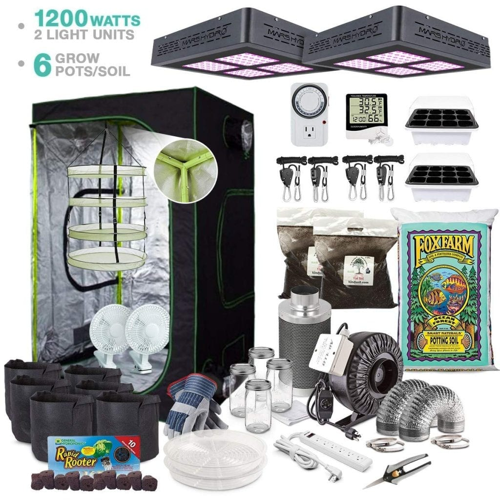 TheBudGrower.com Complete Indoor Kit