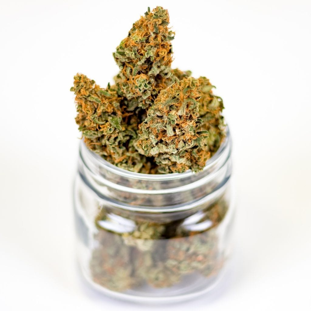how to store marijuana in a jar
