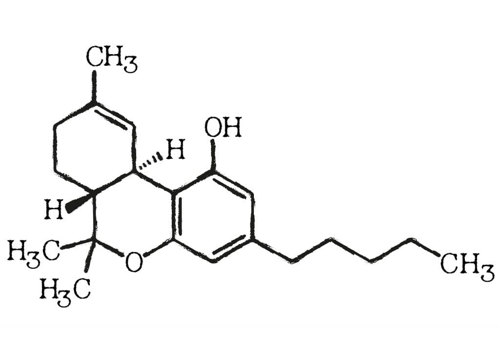 tetrahydrocannabinol chemical