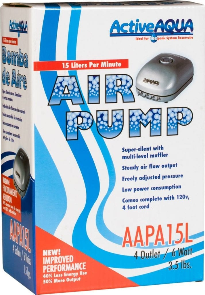 Hydrofarm Active Aqua Hydroponic Air Pump