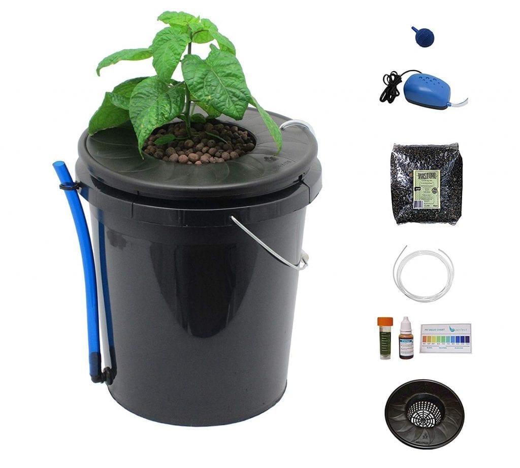 Viagrow Black Bucket