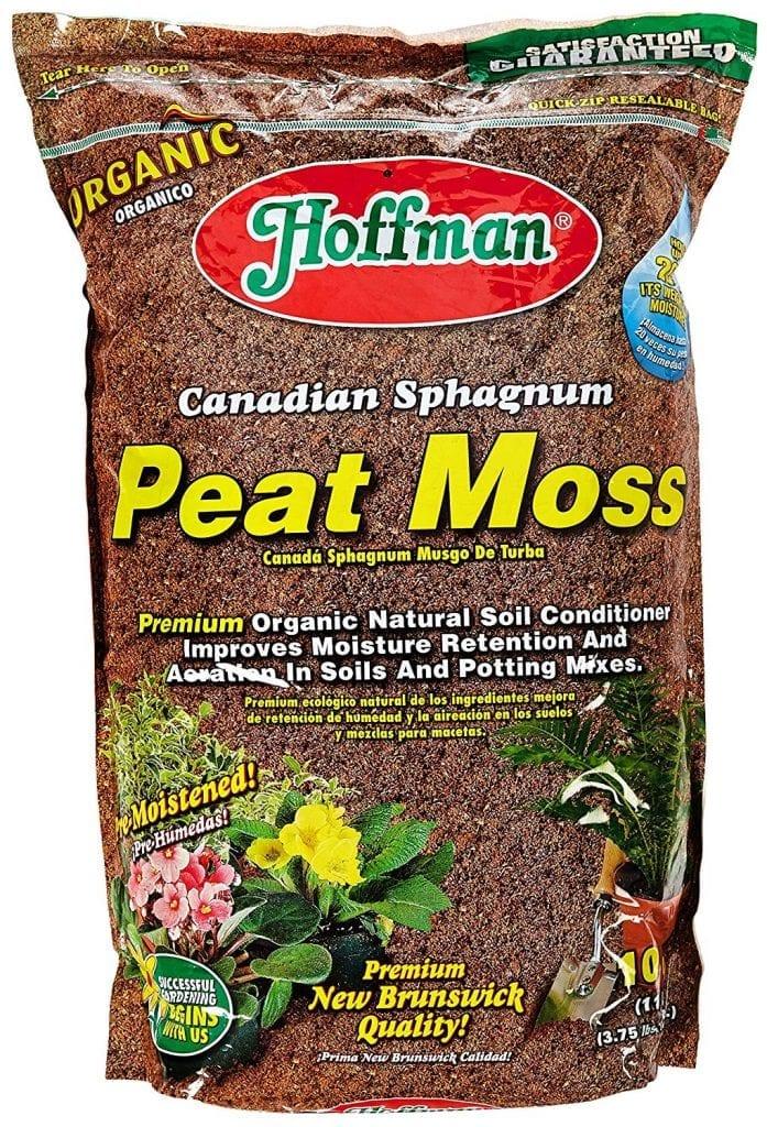 Peat Moss - hydroponic grow medium