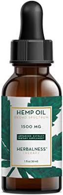 Herbalness Hemp Oil