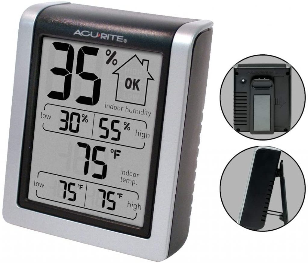 AcuRite 00613 Digital Hygrometer & Indoor Thermometer