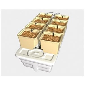 Eurogrower - 8 pots complete