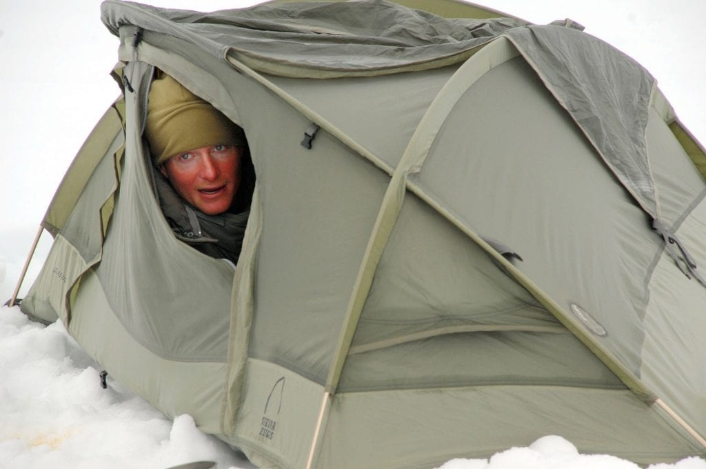 2x2 tents space